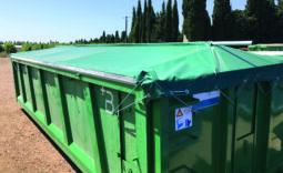 Wasserdichte Planen für Transport und Lagerung