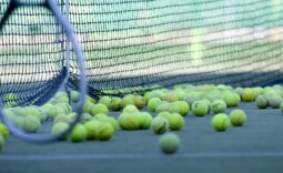 Schutznetze für Tennis