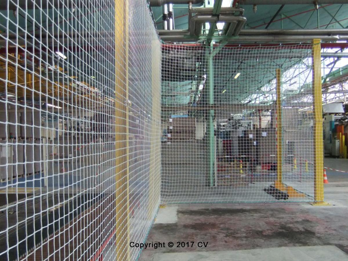 Schutznetze für Industrie und Bau