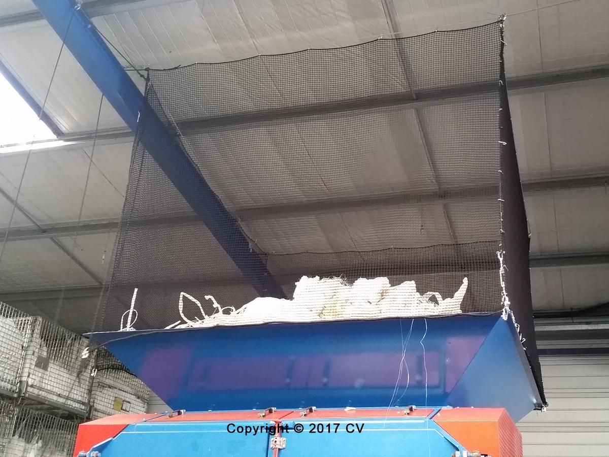 Filet de sécurité anti-chute