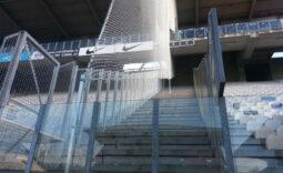 Stadiontrennnetze und Ballschutz